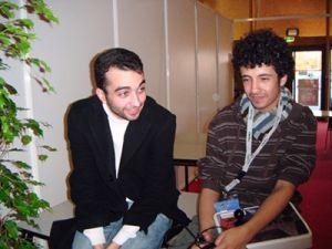 Kilivan et Redchan, après une session nocturne éprouvante