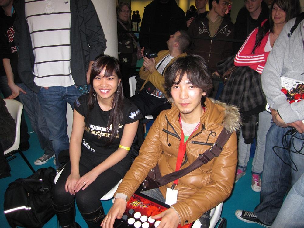Kayane et Daigo Umehara