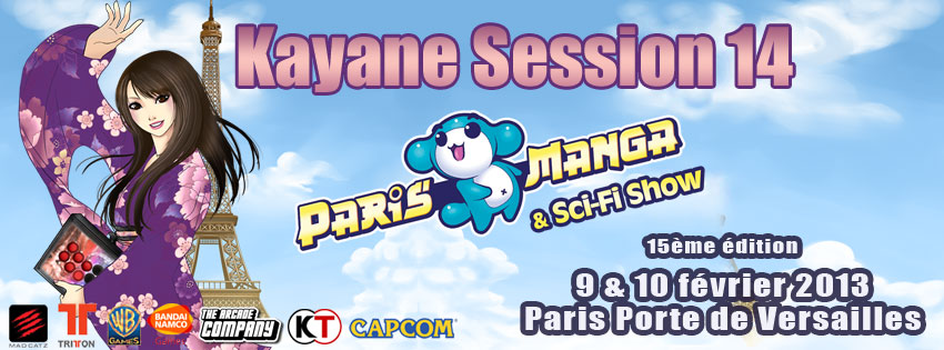 Kayane Session au Paris Manga
