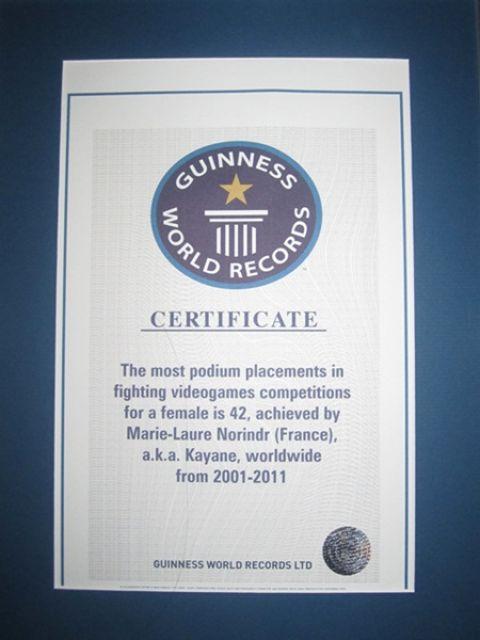 Kayane_Guinness_Records