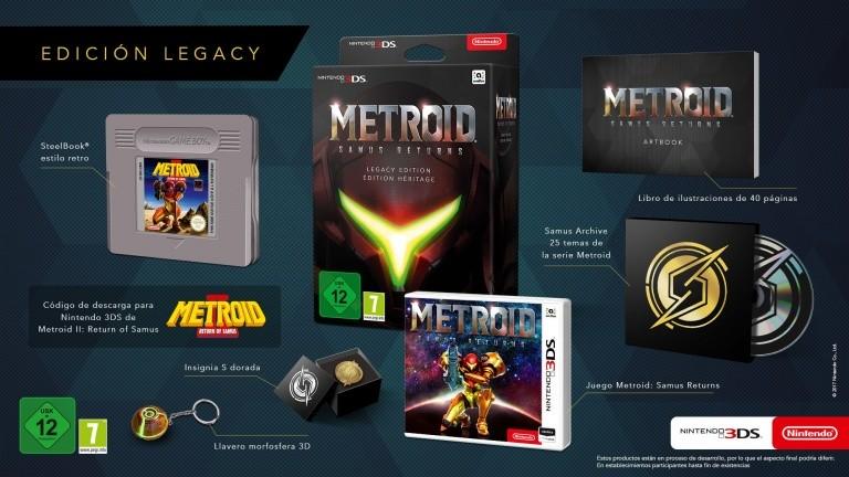 Edition Collector Metroid Samus Returns