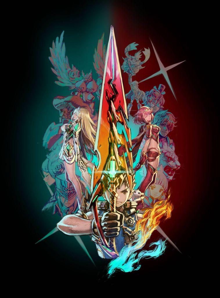 Xenoblade 2 Artwork
