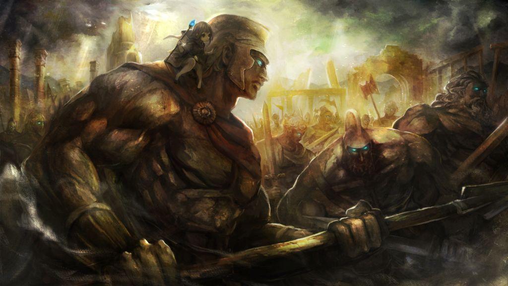 5. Art - Golem-Master