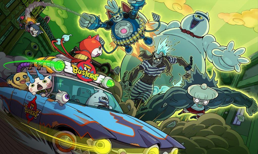 Yo-kai-Watch-Blasters artwork