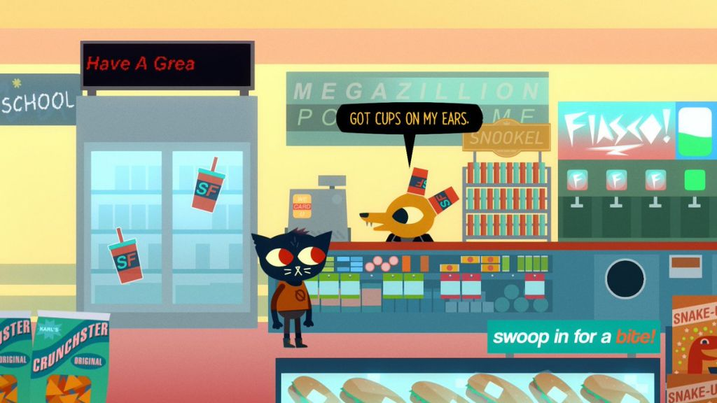 Gregg Night in the woods